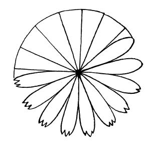 сделать из бумаги цветок ромашка