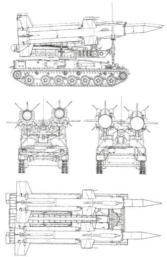 Схема пусковой установки 2П24