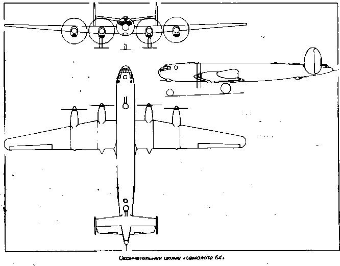 Компоновочная схема «самолета