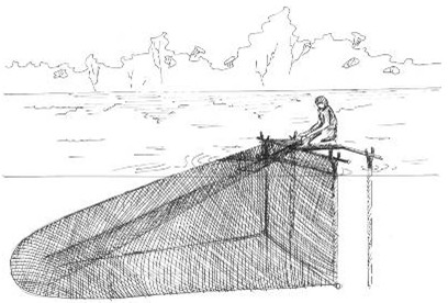 способы ловли рыбы сетями на водохранилище