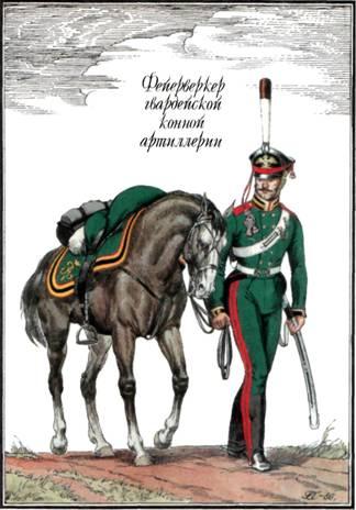 31 фейерверкер гвардейской конной