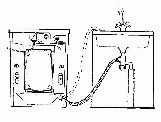 Хорошо, если установлены новые краны с клапанами для подключения стиральной или посудомоечной машины.