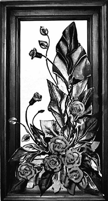 Из кусочков плотной кожи можно вырезать лепестки роз, каждый слегка...
