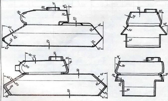 Бронирование танков 'Г-34-85