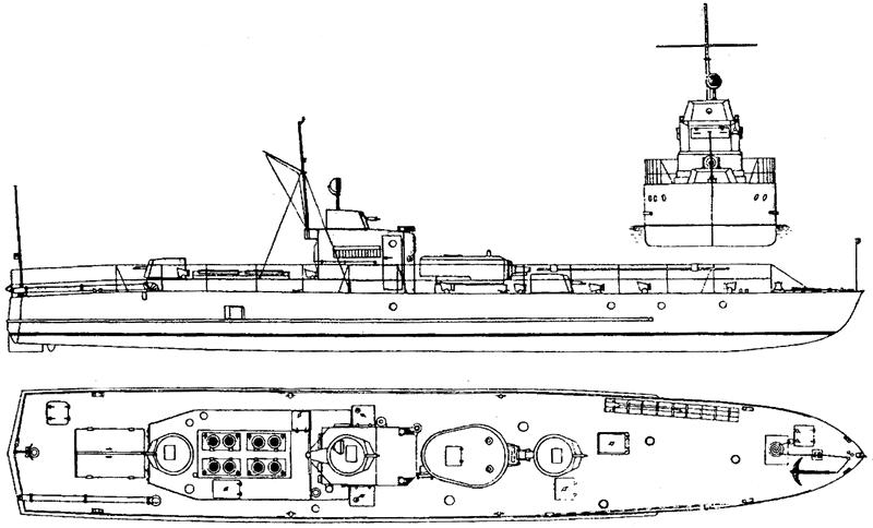Бронекатер проекта 1125