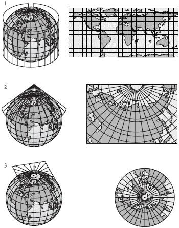 сети с глобуса на карту