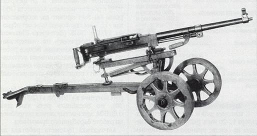Станковый пулемет СГ на станке