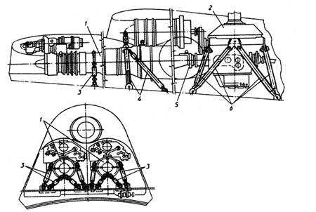 двумя двигателями ТВ2-117