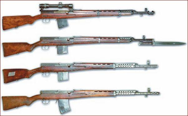 Опытная винтовка Токарева 1936