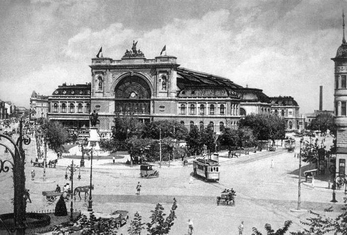 Будапешт. Восточный вокзал.