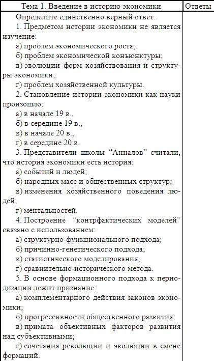 тест по теме по: