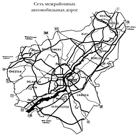 Транспорт в городах, удобных