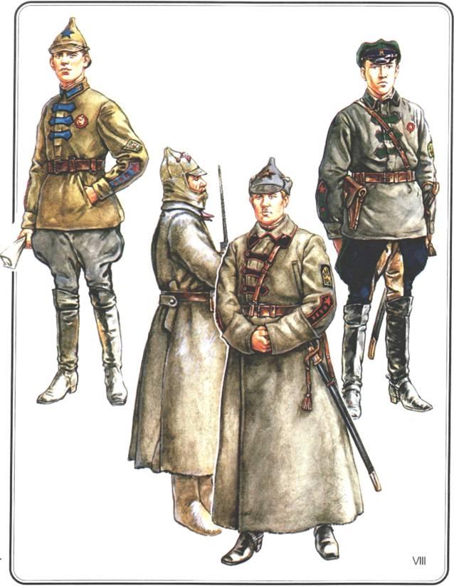 Крестьянская красная армия 1920–1922 г