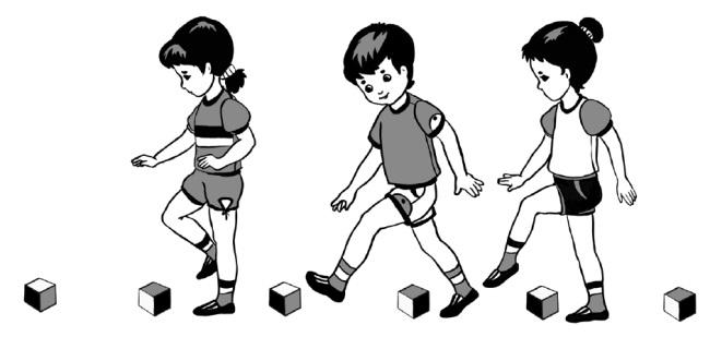 В ходе игры малыши быстрее