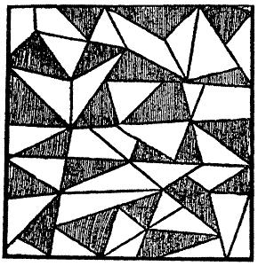 Можете ли вы обнаружить на приведенном здесь рисунке правильную пятиконечную звезду?