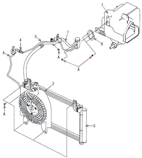 Блок-схема кондиционирования