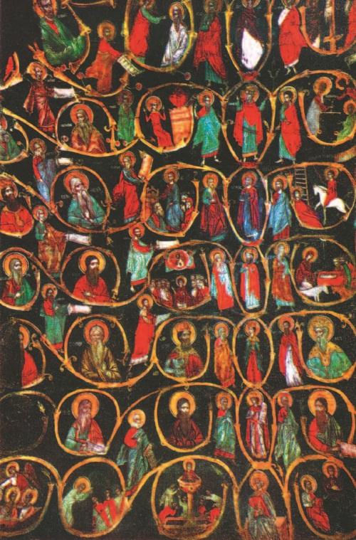 Рис 10 роспись в церкви святого