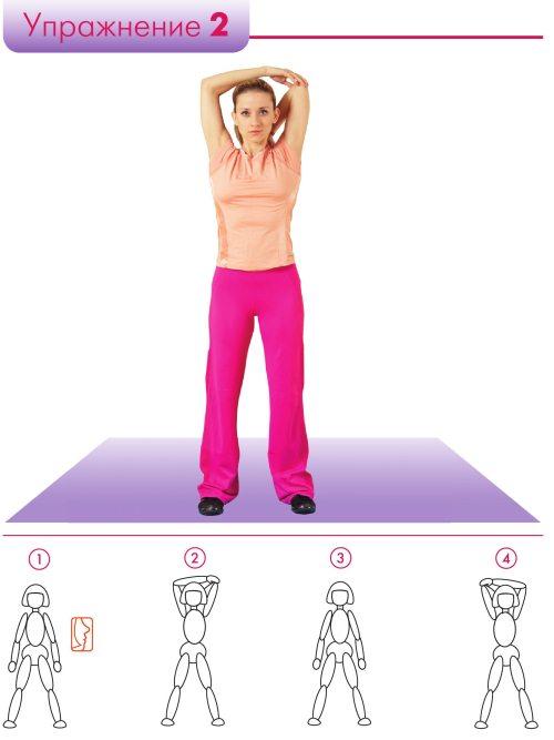 Убрать живот за две недели упражнения