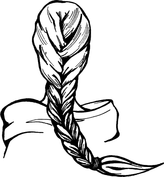 Техника плетения косы «рыбий