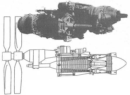Двигатель 2ТВ-2Ф и его схема