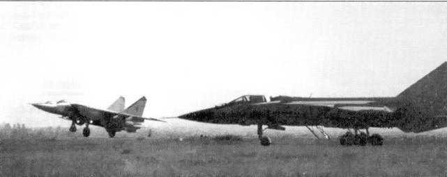 Аэродинамическая схема МиГ-31