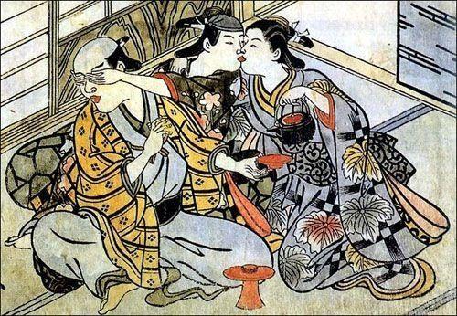 Важное место в жизни самураев занимало сюдо (шудо)- гомосексуальная любовь