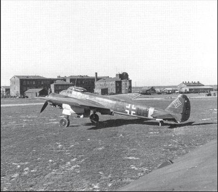 Ju 88d 1 w nr 430861 t5 gh из 1 й эскадрильи aufkl gr 100