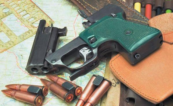 Пистолет МСП разрабатывался