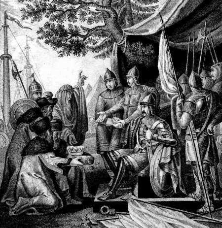 Рюрик, Синеус и Трувор