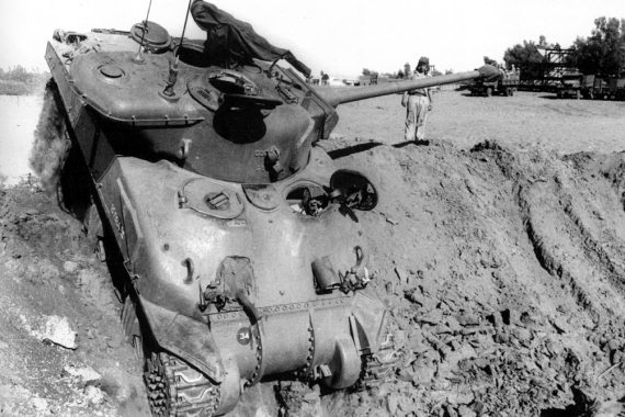 Средний танк шерман м51 вооруженный