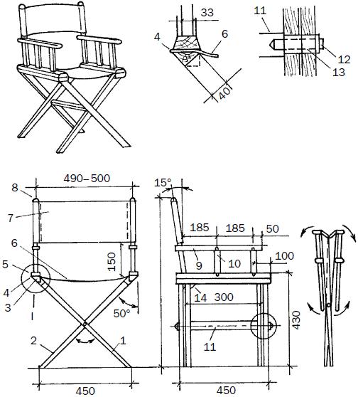 Практичная мебель для летней