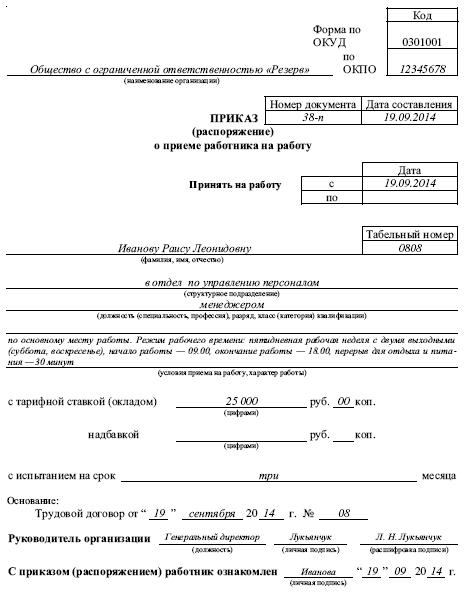 приказ об обеспечении нормальных условий труда образец - фото 10