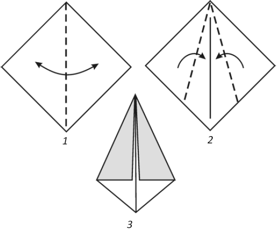 Базовая форма «воздушный змей»