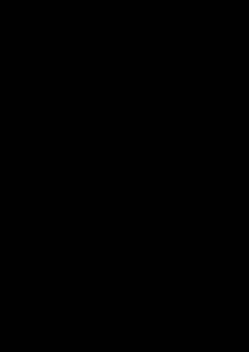 3. Складывая фигурку пополам