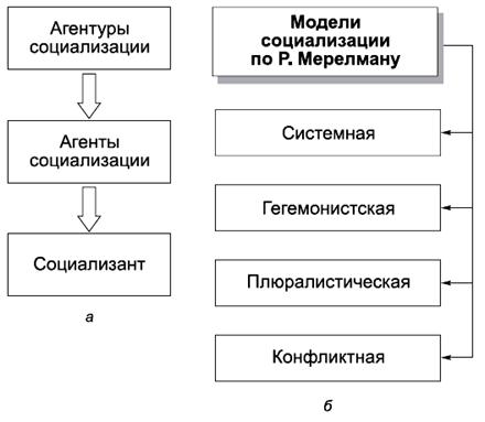 13.6. Структура и модели политической социализации.