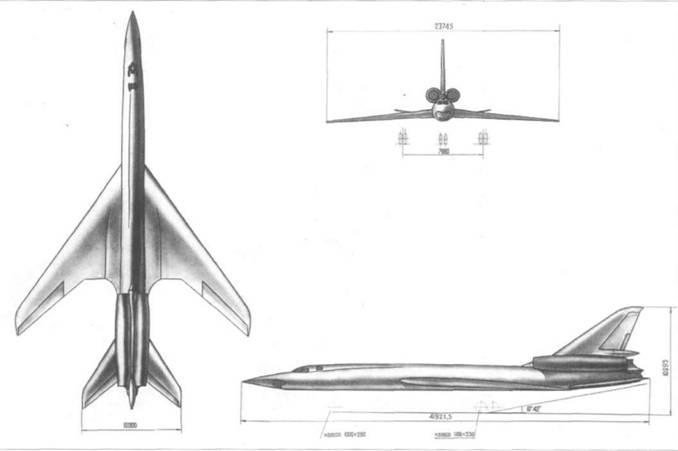 Схема самолета «105»