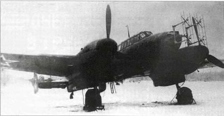 Bf 110G-4 на аэродроме НИИ ВВС в Чкаловской. Январь 1945 г.
