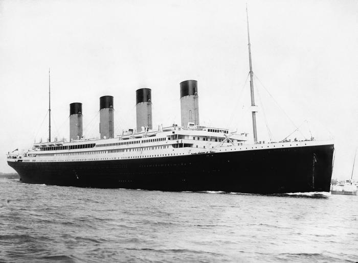 Отплытие обреченного лайнера
