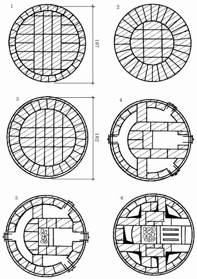 круглая кирпичная кладка - Нужные схемы и описания для всех.