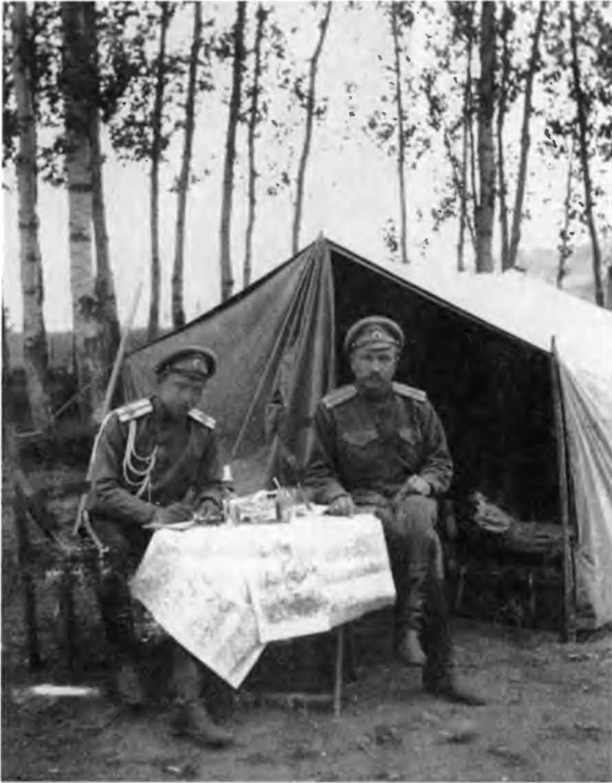 Офицеры 1 го лабинского полка 1916 г