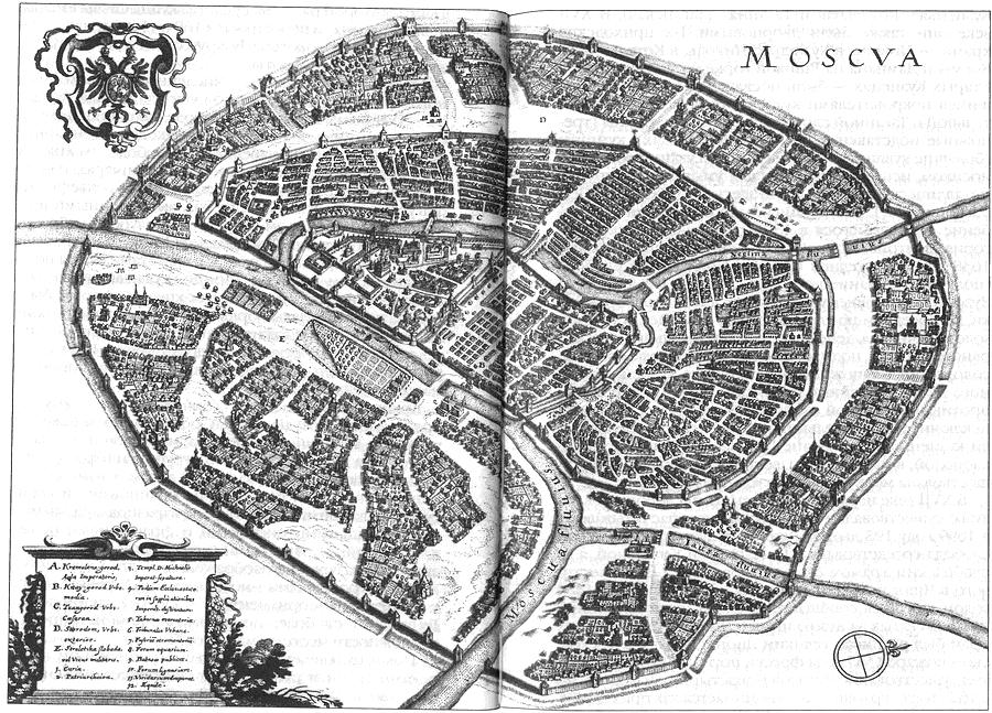 жизнь средневековой Москвы