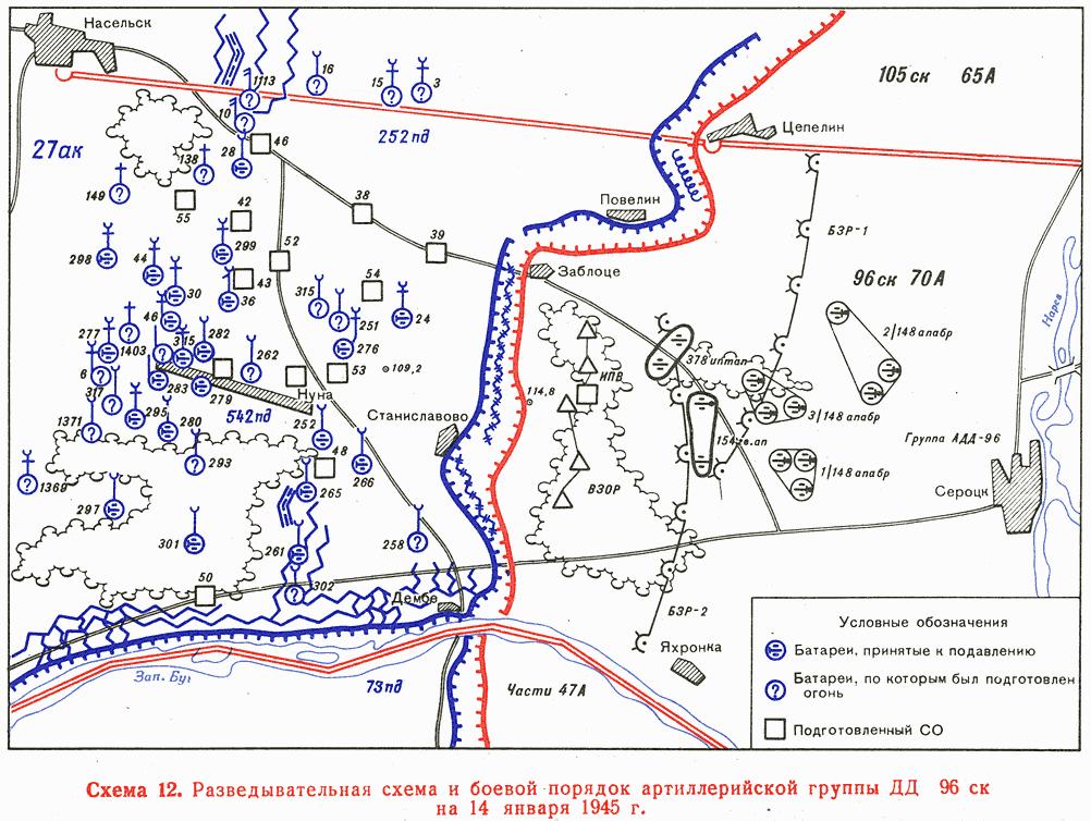 Артиллерия в бою и операции