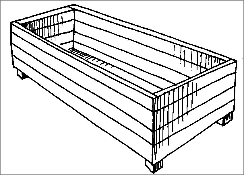 Грядки-контейнеры бывают