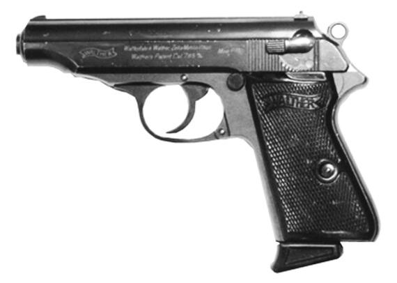 Пистолет Вальтер ПП/ППК