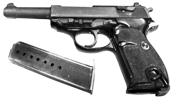Пистолет Вальтер П-38