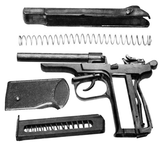 Пистолеты и револьверы.