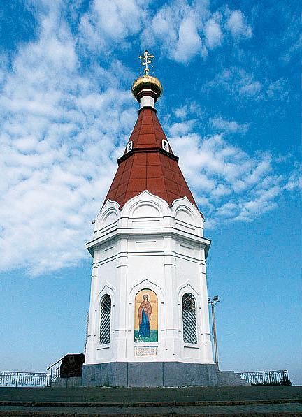Красноярск. Часовня Параскевы
