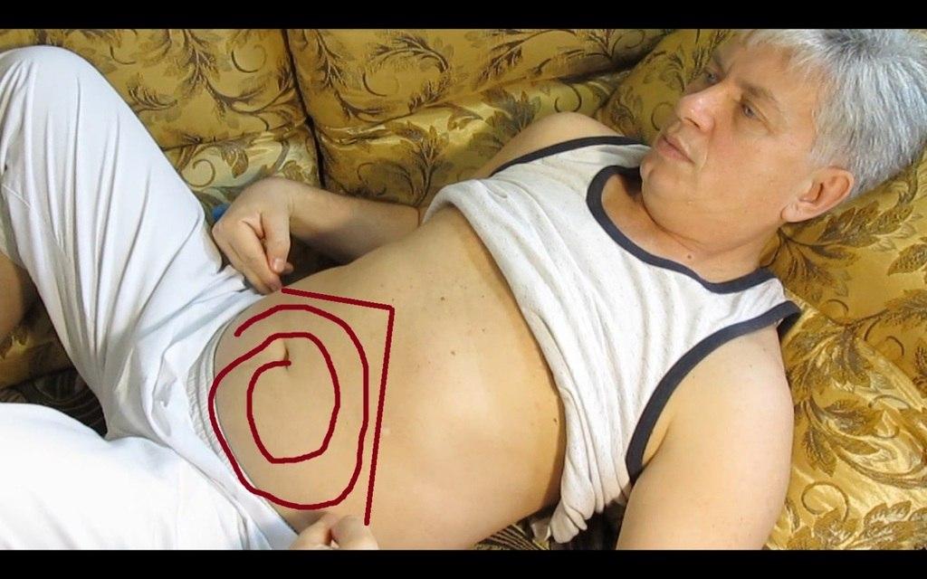 Вторая схема массажа