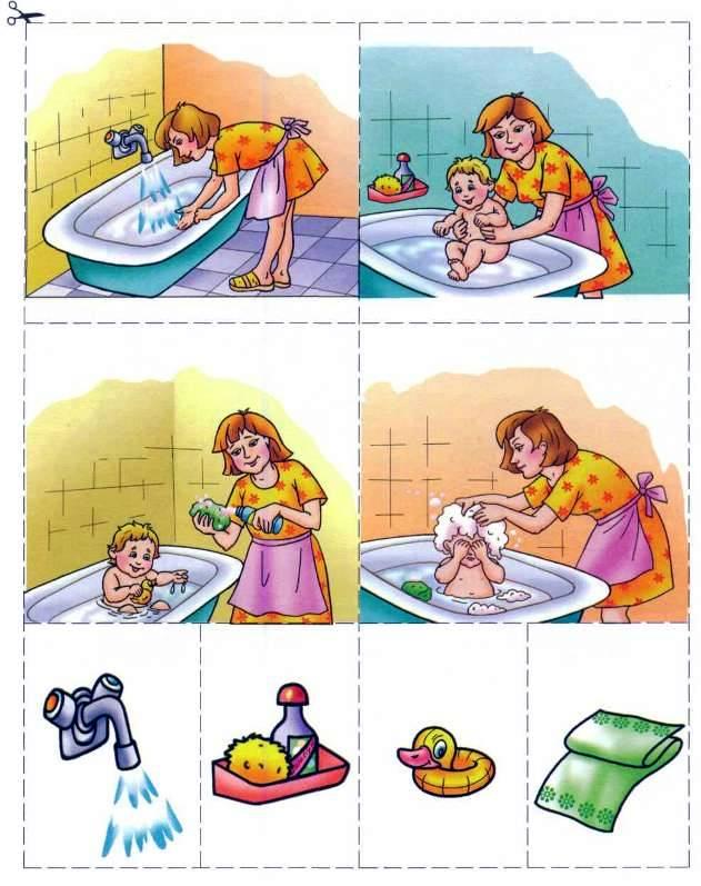 Рассказ и рисунок о маме