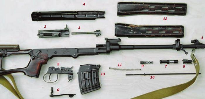 Детали 7,62-мм снайперской